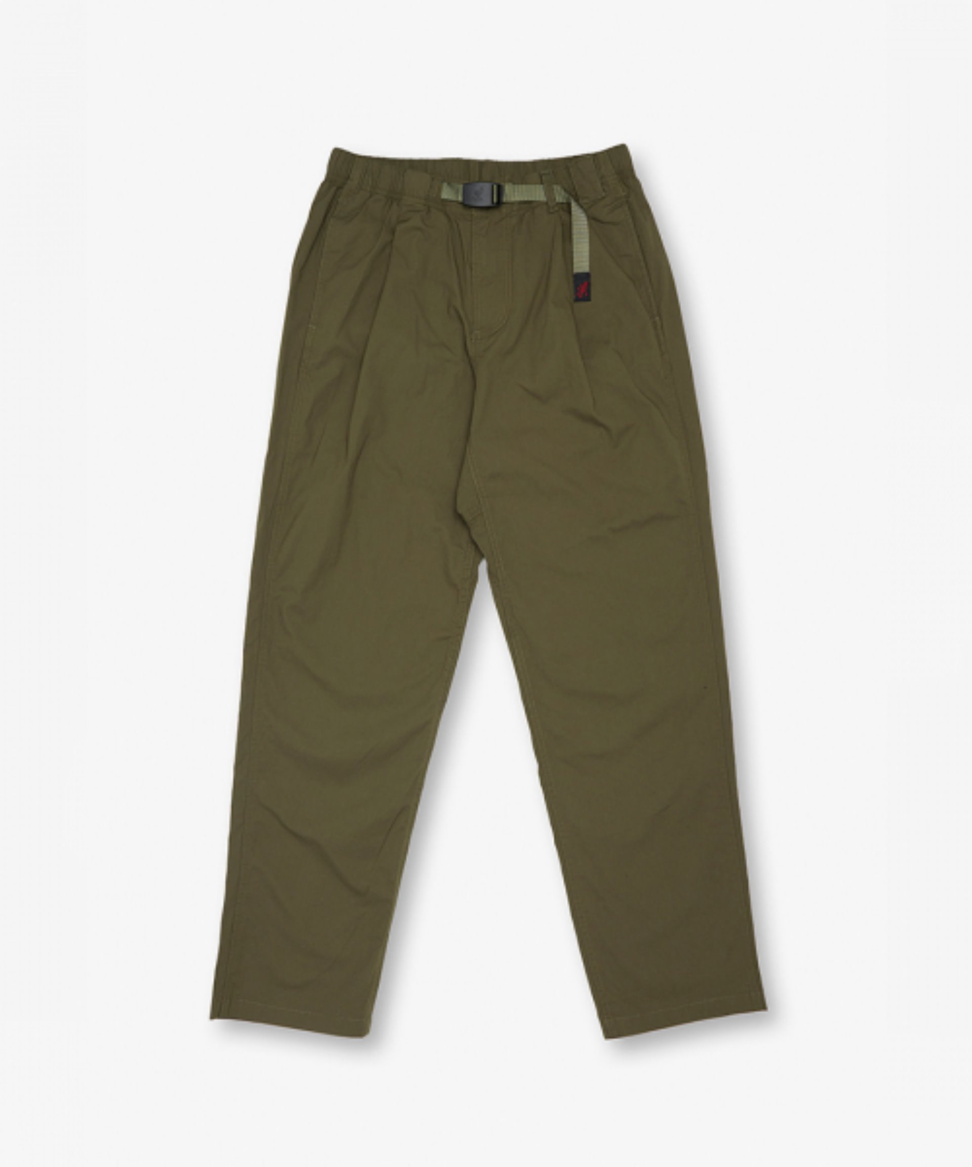 WEATHER 1 TUCK PANTS(OLIVE)
