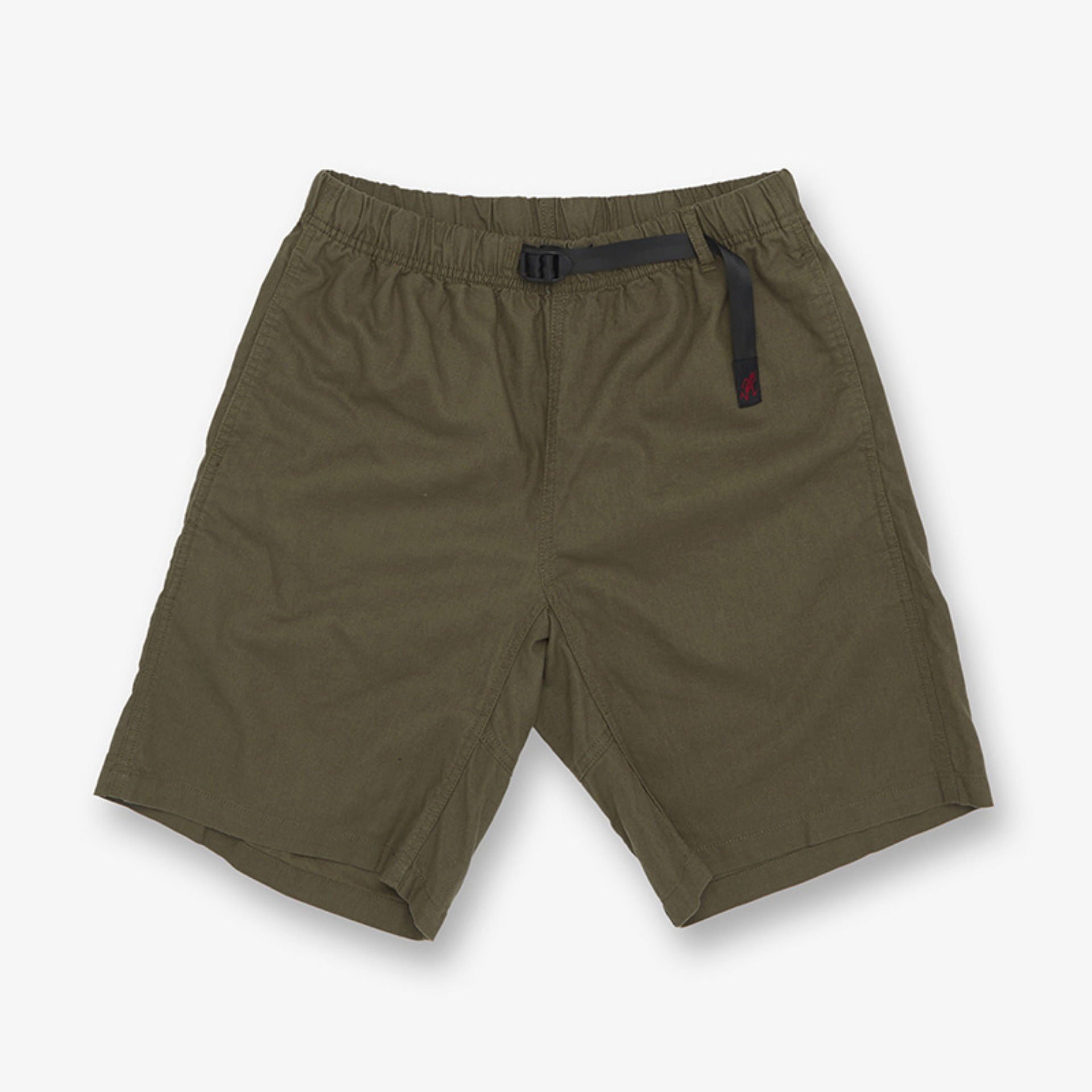 LINEN COTTON G-SHORTS (OLIVE)